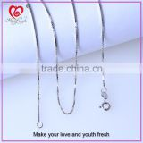 Cool hip hop jewelry neck chain white gold neck chain wholesale 14k gold chain