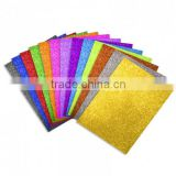 health harmless glitter ethylene vinyl acetate foam sheet for kindergarten hand craft drawing kid play