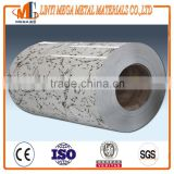 factory supply ppgi wood prepainted galvanized steel coil/color coated steel sheet in coil