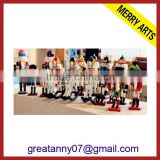 Wooden Nutcracker With Customized Logo Printing wholesale toy soldier nutcracker outdoor&indoor nutcracker