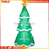 Custom inflatable Christmas Tree for advertising/Christmas Tree inflatable replice for sale