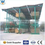 Storage equipment very heavy duty cantilever rack ,cantilevered warehouse pipe rack system