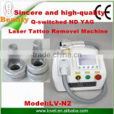 Hot-sale!Good Price RGB Double Rod ND Yag Laser Tattoo Removal Machine                                                                         Quality Choice