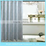 Waterproof Printed peva shower curtain with matching window curtain and shower curtain rings