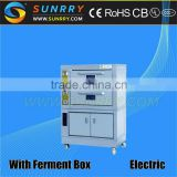 Hot sale good price stainless steel 3 deck industrial electric bakery deck oven with fan steam proofer