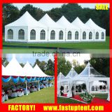 White PVC fabric sideWall Small Gazebo Pagoda wedding tent 3X3m for sale at South Africa