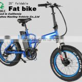 "20"" cheap full suspension foldable fat bike"