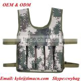 Training weight police tactical vest factory Vest for running 0-20kg whole sale military heavy weight vest