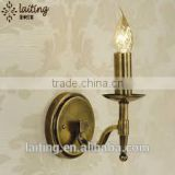 Bronze single light wall sconce lights