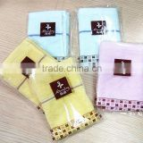 High Quality Wholesale Face Cloth Towels 100% Cotton Handkerchief Small Towel