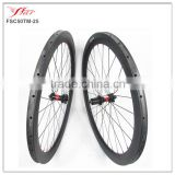 light wheels road bike carbon tubular 50mm 25 wheels for adults bike with DT240 and Sapim spokes 28/28h
