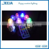 Waterproof Color Changing LED Candle Light for Wedding Decoration/Vase/Fish Tank Decoration