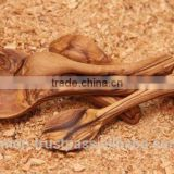 Olive Wood Carved Spoon Mini