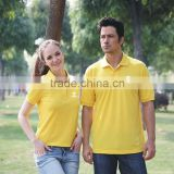 Zhejiang import 100% microfiber polyester polo shirts breathable t shirts pique polo shirt