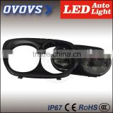 OVOVS atv 4x4 accessories PC lens 12V/24V auto double led headlight for H-arley davidson