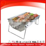 Eco-friendly hot sell aluminum stainless steel bbq rotisserie spit