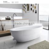 Top sale Seasummer Acrylic freestanding massage bathtub indoor manufacturer with mix valve shower