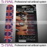2016 New fashion nail resin decorated nail art,doule sided nails,nail sticker and file set