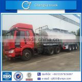 New design high quality hot sale WABCO braking system air suspension aluminum or carbon steel 3-axle oil tank semi trailer