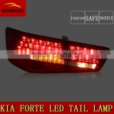 Factory Directly 12V CCC Certification Red Black style and LED Lamp Type Tail light assembly fit in 09-12 year Forte Cars