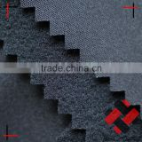 polyester pongee bonded tricot brushed 2 layer fabric for soft bags