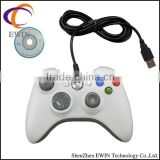 For xbox 360 PC wired controller -white&black