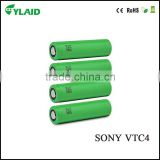 hot selling us18650 vtc4 battery for sony 2100mAh 30A high discharge li-ion battery for vaping/box mod