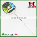 GX-7002 good quality aluminium&steel tempered steel badminton racket&racquet/badminton equipment