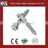 galvanized white collated drywall screws