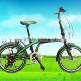 Cheap aluminum 20 inch folding bike/bicycle by China folding bike manufacturer supply for sale