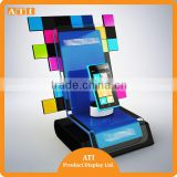 ATI OEM Qrade 2015 Top Rated mobile phone acrylic display holder cell phone display holder smart phone display stand with factor