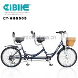 AiBIKE - DISCOVERY - 24 inch 7 speed 2 seats city tandem
