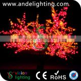Customized bulk sale tall big artificial outdoor led cherry blossom tree light