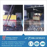 Steel forging heating medium frequency induction furnace