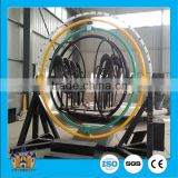 2016 New Design Trailer Mounted Portable Funfair Amusement Rides Human Gyroscope Sensor Ride