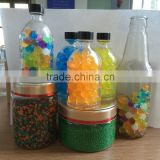 Home Decoration 2.0-3.5mm Polymer Water Gel Crystal soil marble