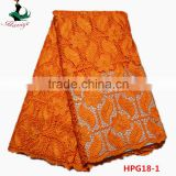 Haniye 2016/HPG18 African Lace Dress/Gold African Cord Guipure Lace Fabric For Nigerian Party