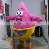 Patrick Star professional cartoon character costumes