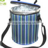 Fashion promotional cheap aluminum foil insulation roll cooler bag
