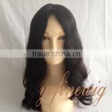 "Wholesale Grade 7A brazilian hair jewish wig 4""*4"" silk top hand tied jewish wig direct from the factory"