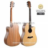 "global musical instrument 41"" solid body acoustic guitar Deviser T30S41"