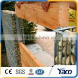 Long use life Heat-dispersing 2.5cmx20cm hole welded gabion wall for garden