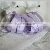 hand dyed silk ribbon for packing and decoration