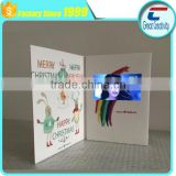 "hot sale 4.3 inch LCD screen paper video greeting cards /Custom wedding 2.4 "" invitation lcd video greeting card"