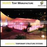 Beautiful fancy party tent large wedding marquee tent event tent with curtain and lights for sale