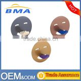 Smile Face Shape Single Plastic Stick Over Door Hook/Coat Hook