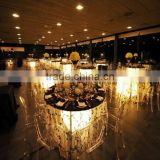 Remote controlled battery powered light Wedding Centerpieces / color changing Wedding Decoration