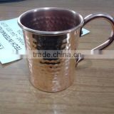 Copper Mugs for Beer,Hammered Copper Mugs,Pure Copper Mugs,Solid Copper Mugs,Copper Mugs Riveted Handles,Riveted Handle
