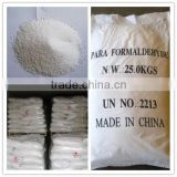China supplier high quantity 96% paraformaldehyde 30525-89-4 wihte prilled for for resin, insecticide, herbicide