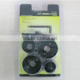 6pc Bi-metal hole saw (combined tools,tool sets,tools)